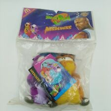 Mcdonalds Space Jam Plush Toys Nerdlucks Original Unopened Packaging 1996