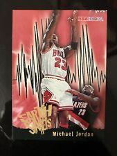 MICHAEL JORDAN 1995-96 NBA Hoops Earth Shakers Subset #358 Chicago Bulls