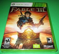 Fable III Microsoft Xbox 360 *Factory Sealed! *Free Shipping!