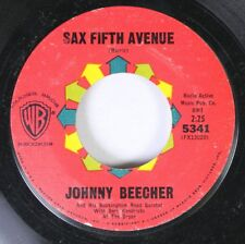 Jazz 45 Johnny Beecher - Sax Fifth Avenue / Jack Sax The City On Warner Brothers