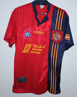 Spain National Team home shirt 96/98 Adidas Size S #19