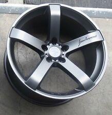 "19"" MRR VP5 Wheels For Ford Mustang GT 19X9.5 Inch Matte Grey Rims Set (4)"