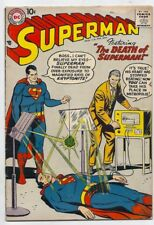 (1958) Dc Comics Superman #118 Cool Silver Age Issue! Kryptonite 4.0 / Very Good