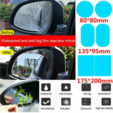 2x Rainproof Car Rearview Mirror Sticker Anti-fog Protective Film Rain Shield