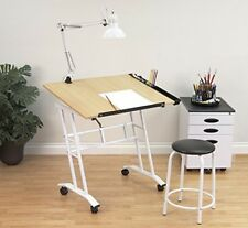Drawing Station Board Artist Large Drafting Table Adjustable Sketch Stand Paint