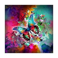 5D DIY Full Drill Square Diamond Painting Butterfly Cross Stitch Embroidery R1BO