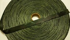 "Carter Pet Supply 1""  Inch Woodland  Camoflauge Polyester Webbing, 10 Yards USA"