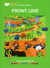 FRONT LINE - ENHANCED Colecovision / ADAM Cart.  NEW for 2019, SGM REQUIRED
