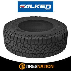 (1) New Falken Wildpeak A/T3W LT285/75R18 129/126R All Terrain Any Weather Tires
