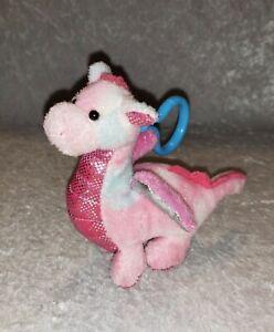Webkinz Ganz Kinz Klip Whimsy Dragon Plush  Stuffed Animal #WEOOO245