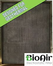 30x36x1 BioAir Permanent Washable A/C Furnace Filter - Great for Geothermal