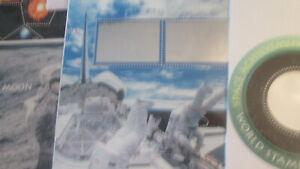 Space Achievement Souvenir Postage Sheet Set, #3409-3413 MNH