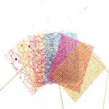 3D Net Line Beauty Nail Sticker DIY Manicure Decor Women Supplies Random Color