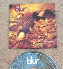 CD SINGLE BLUR BEETLEBUM 1997 SLIP CARD COVER.