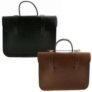 Leather Music Case - Traditional style - Brown or Black