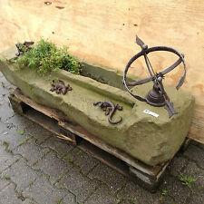 Garten Weg Bachlauf Teich Naturstein Trog Brunnen Vogeltränke Sonnenuhr Echse