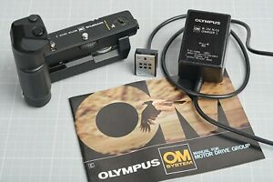 Olympus Motor Drive 2 with Control Pack1-M.15V for OM4,OM3,OM2,OM1MD New Battery