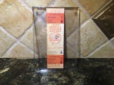 Full Unused Reggie Jackson 1977 World Series 3 HR Ticket NY Yankees Babe Ruth