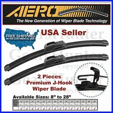 "AERO 26"" + 16"" ALL SEASON PREMIUM OEM BRACKETLESS WINDSHIELD WIPER BLADES (2PCS)"