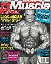 AUG/SEPT 2010 PLANET MUSCLE vintage body building magazine DAN DECKER
