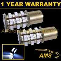 2X 382 1156 BA15s 207 P21W WHITE 48 SMD LED REAR INDICATOR LIGHT BULBS RI202202