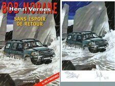 EO BOB MORANE HC 67 MYTHIC + EX LIBRIS SIGNÉ + F. LECLERCQ SANS ESPOIR DE RETOUR