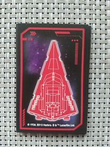 Star Wars Monopoly The Force Awakens Force Card Red 2015 Spares  Cards