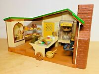 Sylvanian Families Watermill Bakery Set Christopher Appleblossom Cecile Harold