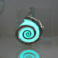 Classic Pendant Snail Design Necklace Glow In The Dark Style Lobster Closure New