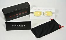 Gunnar Optiks PPK z Computer Eyewear Gaming Glasses Snow Amber White Eye Wear