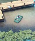 N Scale Custom Laser Cut Four Jon Boats & One Boat Dock Combo Kit