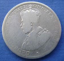 Australie - Australia 1919 - 1 Florin 2 Shilling,George V Silver.