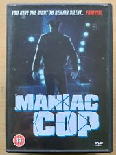 Maniac Cop DVD 1988 Cult Horror Movie Classic Rare Extended Japanese TV Version