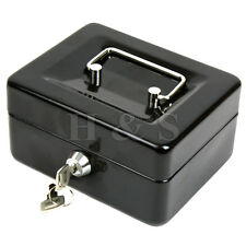 High Quality Steel Petty Cash Money Box Security Lock Lockable Metal Safe Small