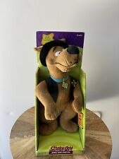 Smiling Sheriff Scooby-Doo Equity Toys Talking Plush Mib 1998