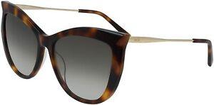MCM MCM689S-214 Women's Havana Sunglasses Brown Lens