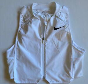 Nike Precool Running Training Vest White CK6589-100 SZ Large NWOT NO PACKS