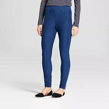 Women's High Waist Jeggings - A New Day Medium Washed Blue Denim Size XL
