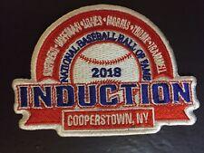 2018 Baseball Patch Hof Induction Guerrero Hoffman Jones Morris Thome Trammell