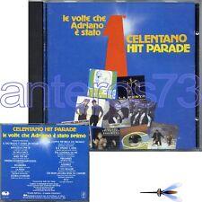"""ADRIANO CELENTANO """"LE VOLTE CHE ADRIANO E' STATO 1°"""" RARISSIMO CD 1985"""