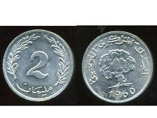 TUNISIE  2 millim  1960  (  SUP  )  ( bis )