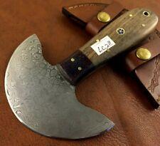 Handmade Damascus Steel Round Head Leather Cutter-Saddler-Skiving Tool-LC211