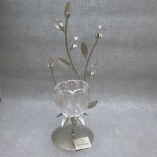 Formano  Teelichthalter rose Zweig Metall edel modern Vintage Geschenk