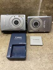 New Listing🔥Lot Of 2 Canon PowerShot Digital Elph Sd750 7.1Mp & Sd630 Digital Cameras🔥