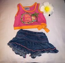 BABW Build a Bear Hello Kitty Hawaii Limited Edition Outfit