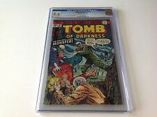 TOMB OF DARKNESS 10 CGC 9.4 HORROR GHOUL MAN WHO CRIED MONSTER MARVEL COMIC 1974