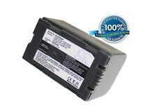 7.4 V Batteria per Panasonic nv-ds55, cgr-d16se / 1B, PV-DV800K LI-ION NUOVA