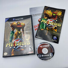 EXC Metroid Prime 1 COMPLETE TESTED CIB Nintendo GameCube/Wii