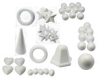 Polystyrene Styrofoam Poly Modelling Shapes