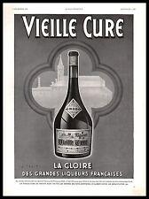 Publicité VIEILLE CURE ABBAYE DE CENON Wilquin Alcool vintage ad  1936